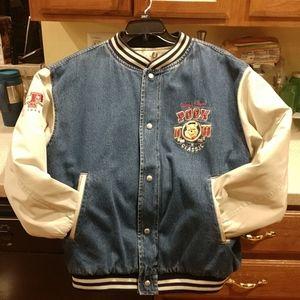 POOH Denim Jacket Size Medium